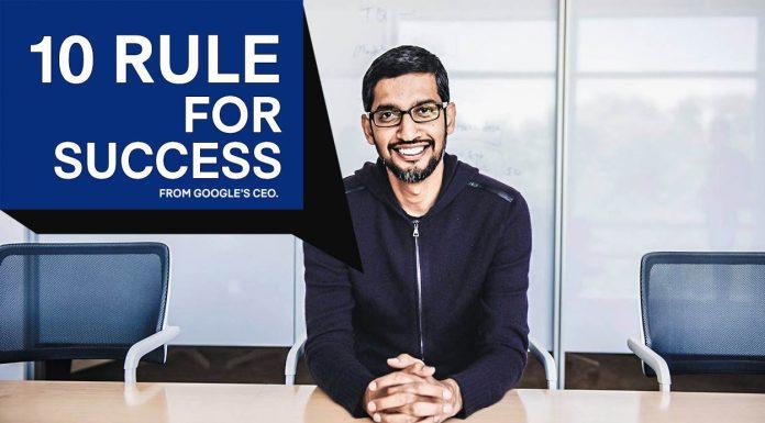 10 กฎเบื้องหลัง ความสำเร็จ ซุนดา พิชัย ความสำเร็จ search engine 10 กฎเบื้องหลัง ความสำเร็จ ซุนดา พิชัย ความสำเร็จ google ceo