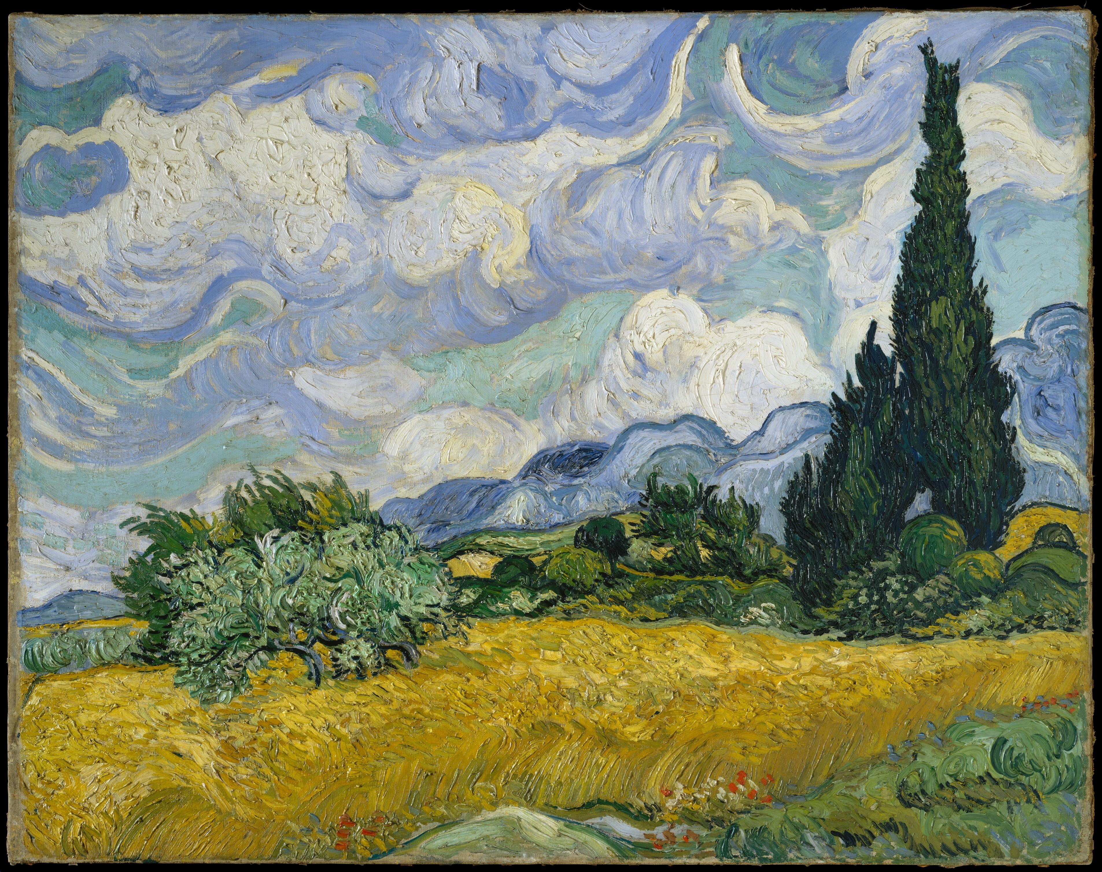 The_Met โหลดฟรี Vincent Van Gogh งานศิลปะ