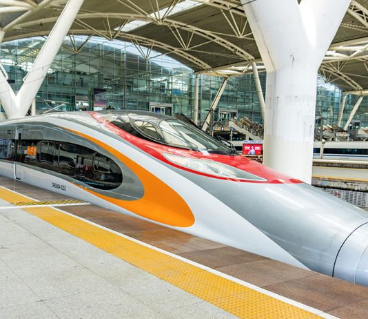 รถไฟความเร็วสูง จีน-ฮ่องกง