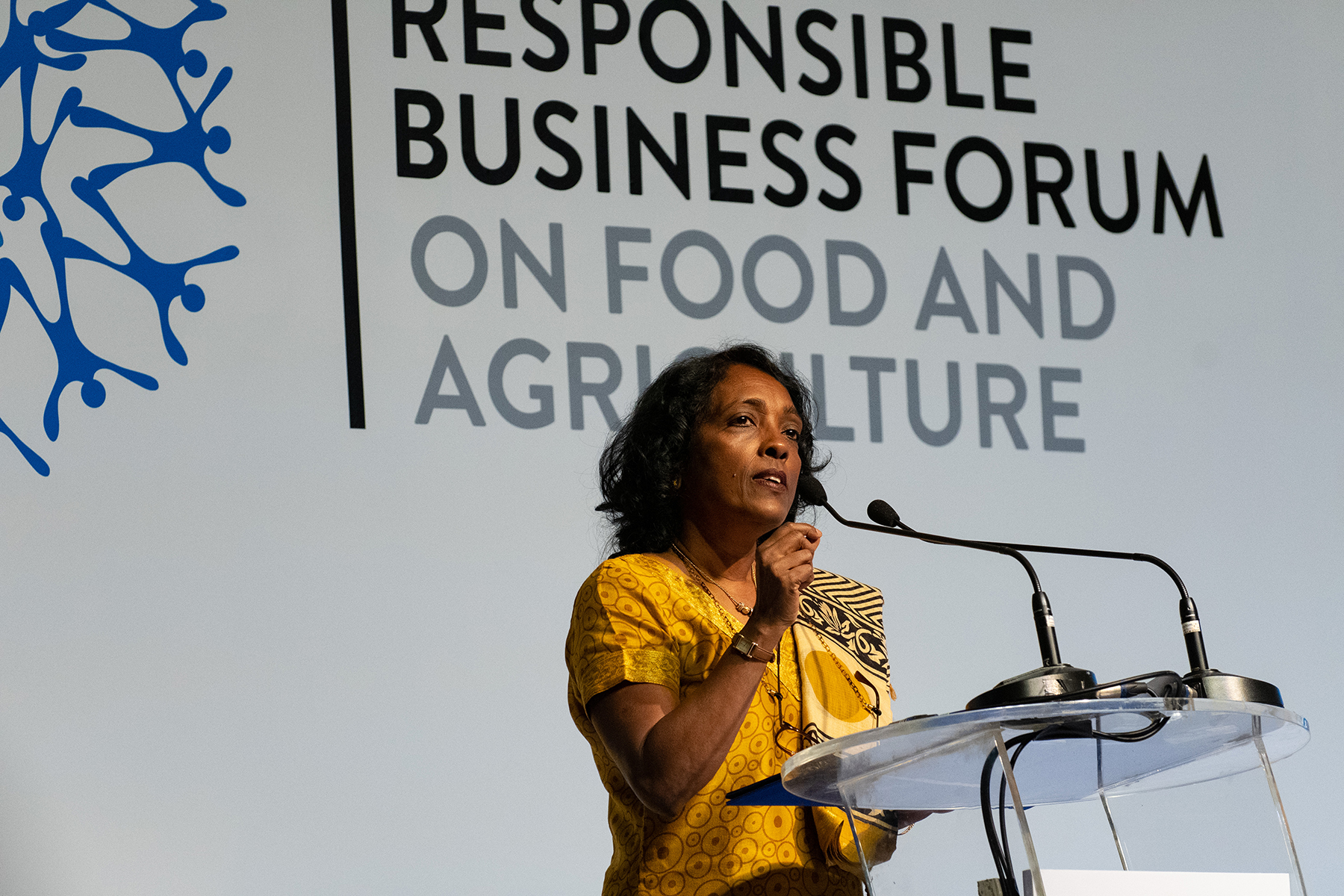 นางกันธวี คาธิเรสาน ผู้ช่วยผู้อำนวยการทั่วไป ระดับภูมิภาคเอเชียแปซิฟิก องค์การอาหารและการเกษตรแห่งสหประชาชาติ