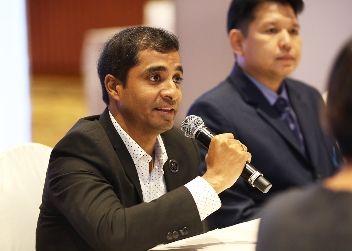 ดร.ราจาน คาลีดินดี ผู้จัดการใหญ่ จีอี เฮลธ์แคร์ ประจำประเทศไทย GE Healthcare