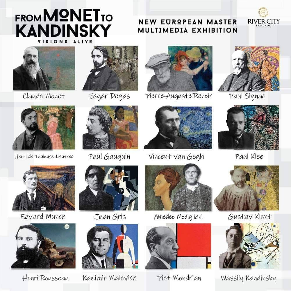 From Monet to Kandinsky