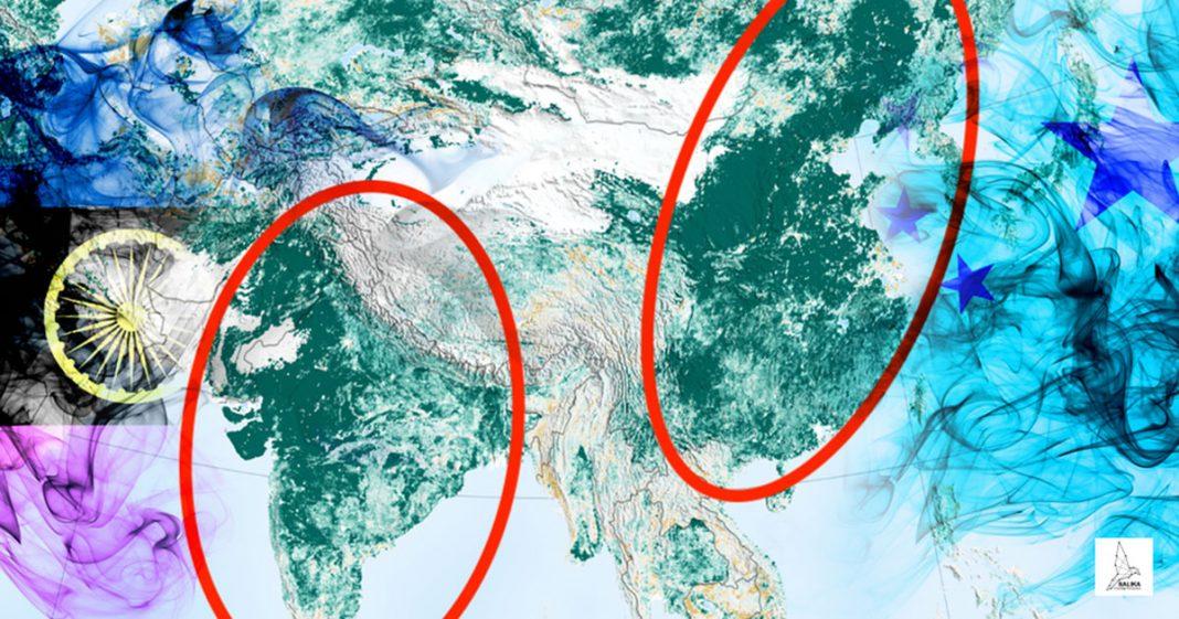 จีนและอินเดีย