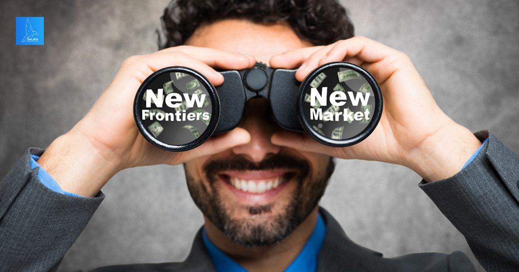 ตลาด 'New Frontiers'