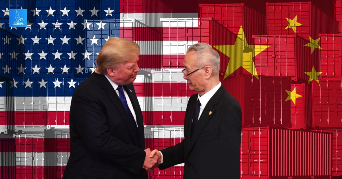 สงครามการค้า สหรัฐ vs. จีน