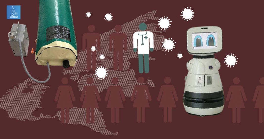 นวัตกรรมรับมือไวรัสโคโรนา