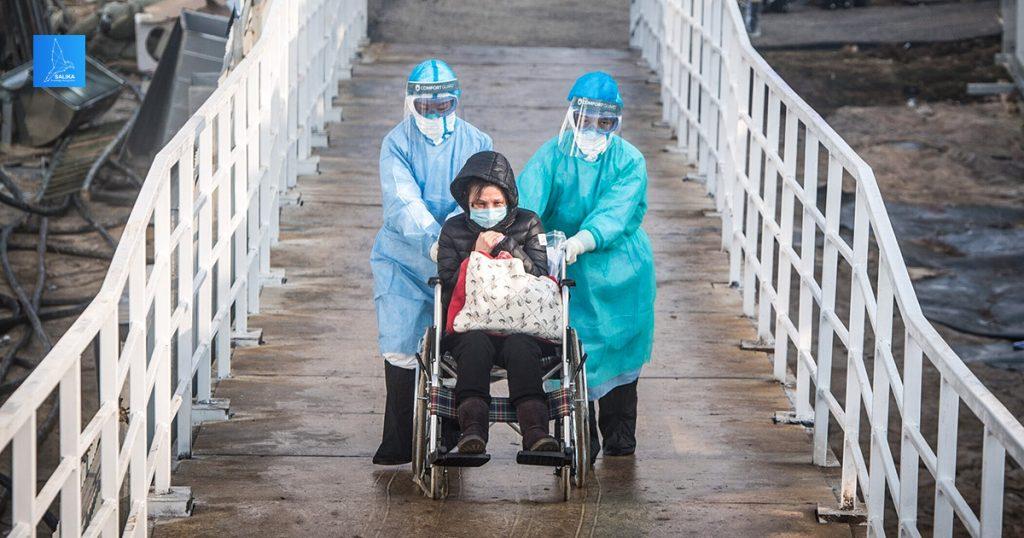 โรงพยาบาลหั่วเสินซาน ไวรัสโคโรนา อู่ฮั่น