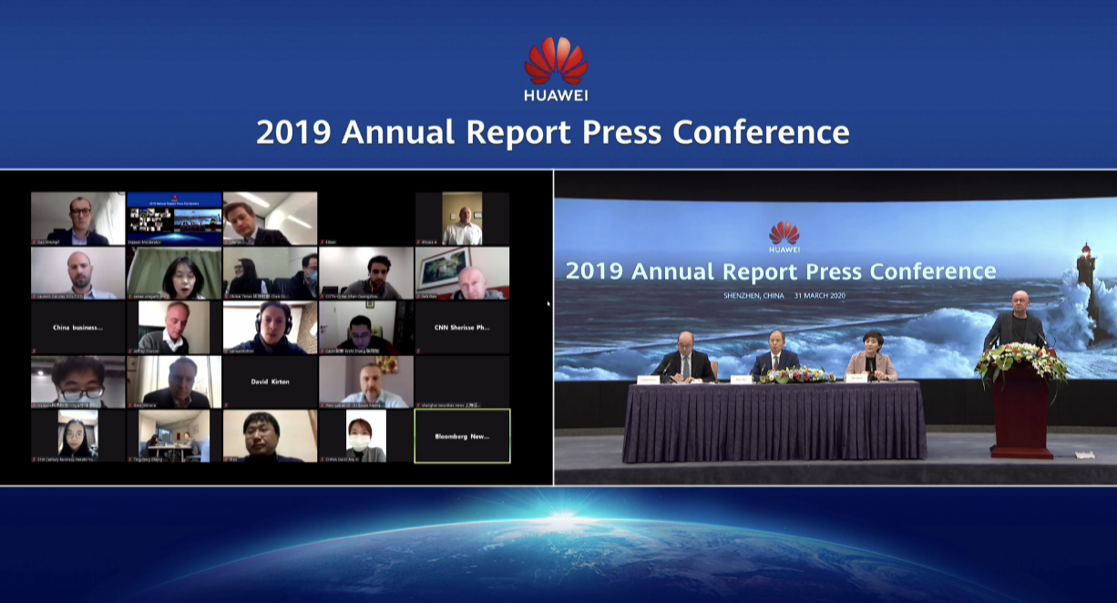 huawei-2019-annual-report press con